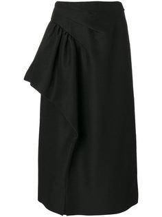 юбка с драпировкой Maison Margiela