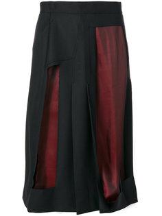 юбка с прорезными деталями Maison Margiela