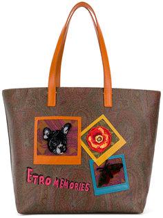 сумка-тоут Memories Etro