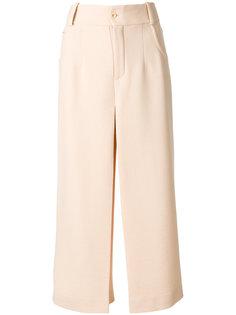 широкие укороченные брюки Chloé