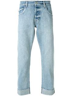 джинсы с подворотами Hudson