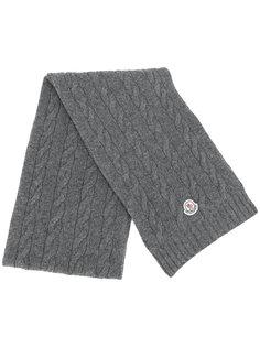 вязанный шарф Moncler