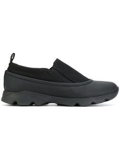 кроссовки с контрастной подошвой Marni