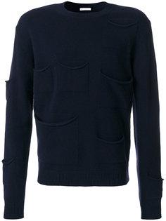 свитер с накладными карманами JW Anderson