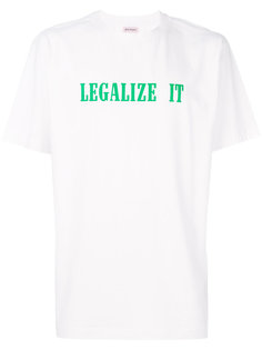 футболка Legalize It Palm Angels