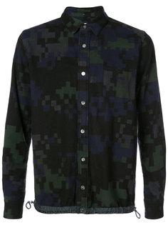 камуфляжная рубашка Sacai