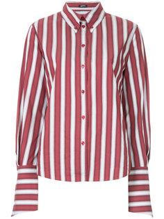 приталенная рубашка в полоску Jil Sander Navy