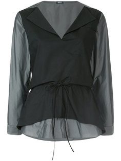 классическая блузка шифт  Jil Sander Navy