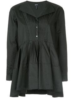 приталенная блузка с оборкой  Jil Sander Navy
