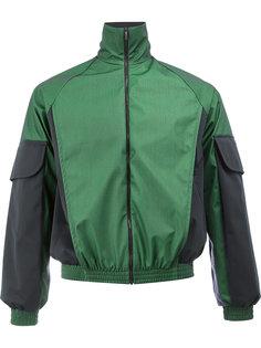 куртка с контрастными рукавами Cottweiler