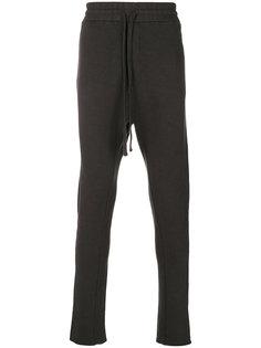 брюки с заниженным шаговым швом Thom Krom