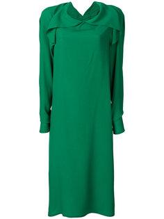 платье с длинными рукавами Marni