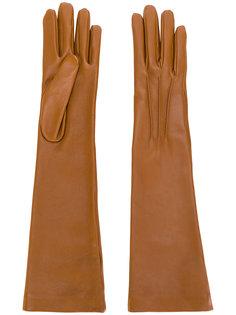 длинные перчатки Jil Sander