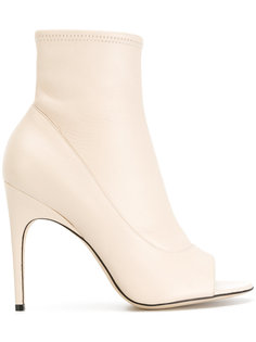 ботинки с открытым носком Sergio Rossi