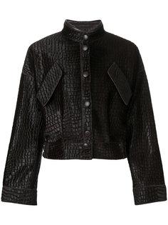 укороченная куртка Giorgio Armani
