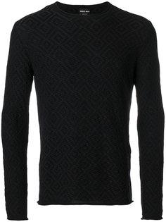 свитер с рисунком Giorgio Armani