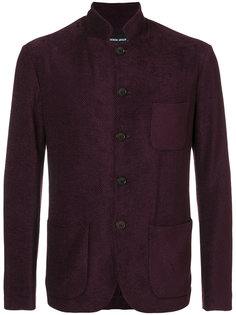 пиджак с воротником-стойкой Giorgio Armani