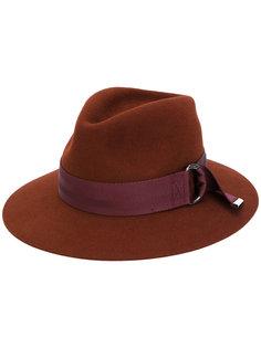 шляпа с лентой на пряжке Rico Maison Michel