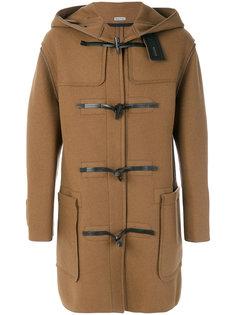 пальто с капюшоном Lanvin