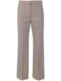 брюки Angela с узором в ломаную клетку Stella McCartney