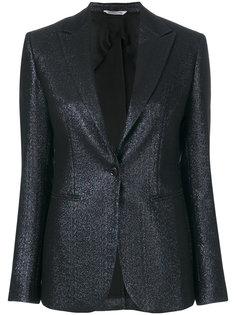 приталенный пиджак металлик  Tonello