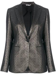 пиджак слим с эффектом металлик  Tonello
