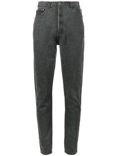 джинсы скинни с завышенной талией и прорезью сзади Re/Done