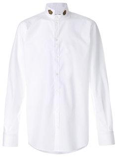 рубашка с коронами на воротнике Dolce & Gabbana