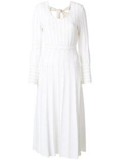 платье миди с поясом Fendi