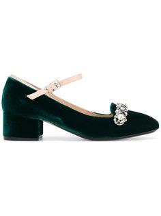туфли с блестящим декором спереди Nº21