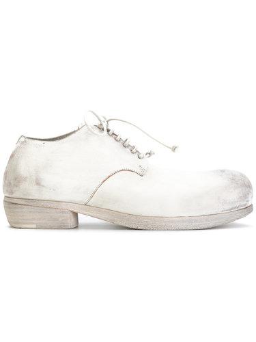 ботинки-дерби с эффектом потертости Marsèll