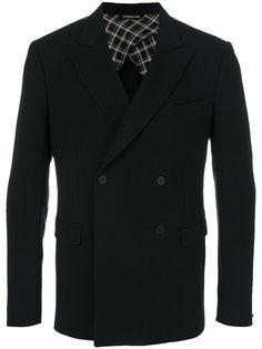 приталенный двубортный пиджак Tonello