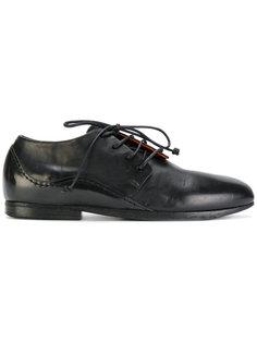 туфли со смещенной шнуровкой Marsèll