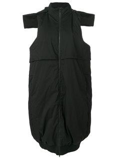 пуховое пальто без рукавов Y-3