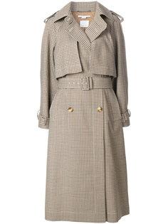 пальто в клетку Estrella Stella McCartney