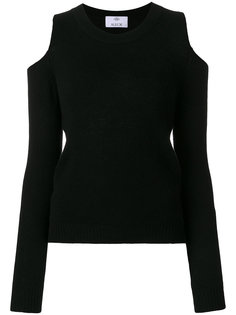 свитер с открытыми плечами  Allude