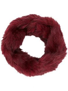 шарф из меха кролика Yves Salomon