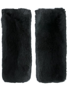 перчатки Yves Salomon