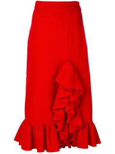 юбка с рюшами MSGM