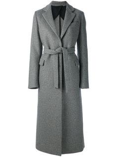 пальто с поясом MSGM