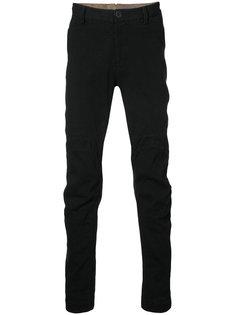 лоскутные брюки кроя слим Ziggy Chen