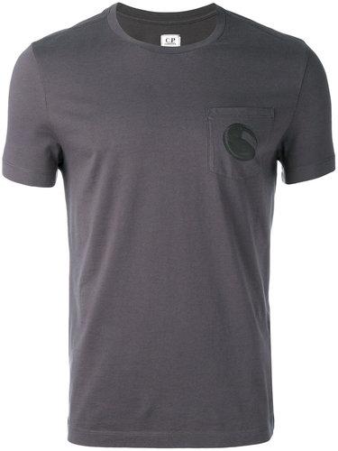 футболка с нагрудным карманом CP Company