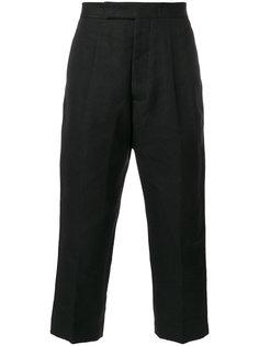 укороченные плиссированные брюки Rick Owens