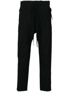брюки с заниженным шаговым швом Cedric Jacquemyn