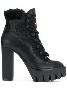 ботинки на платформе Dsquared2