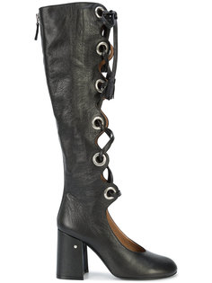 сапоги на шнуровке Laurence Dacade
