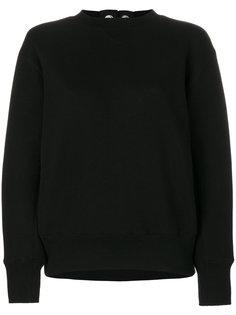 свитер со шнуровкой сзади  Sacai