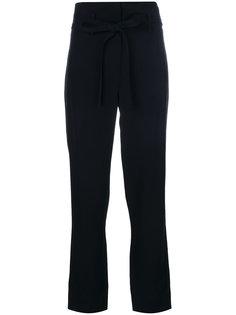 брюки с завязкой на талии  Theory