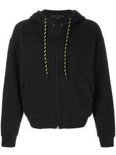 куртка с капюшоном  на шнуровке Alexander Wang