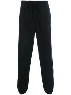 спортивные брюки с эластичными манжетами Alexander Wang
